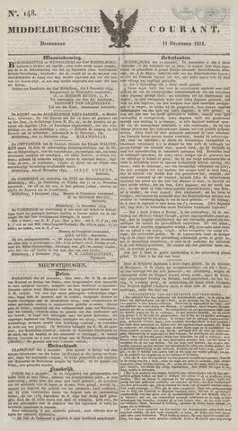 Middelburgsche Courant 1834-12-11