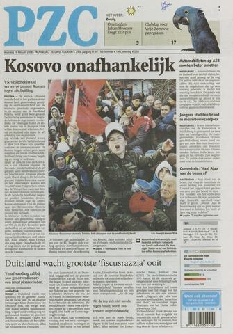 Provinciale Zeeuwse Courant 2008-02-18