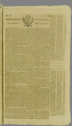 Middelburgsche Courant 1807-03-05