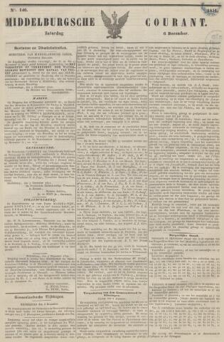Middelburgsche Courant 1851-12-06