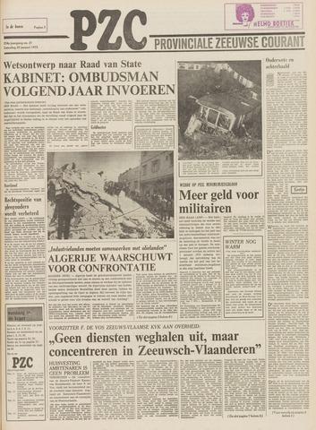 Provinciale Zeeuwse Courant 1975-01-25
