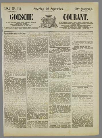 Goessche Courant 1883-09-29
