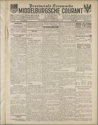 Middelburgsche Courant 1932-01-25