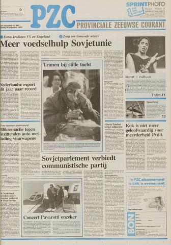 Provinciale Zeeuwse Courant 1991-08-30