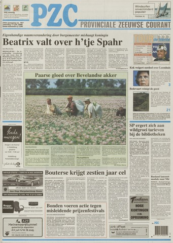 Provinciale Zeeuwse Courant 1999-07-17