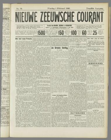 Nieuwe Zeeuwsche Courant 1916-02-01