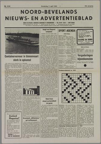 Noord-Bevelands Nieuws- en advertentieblad 1985-04-11