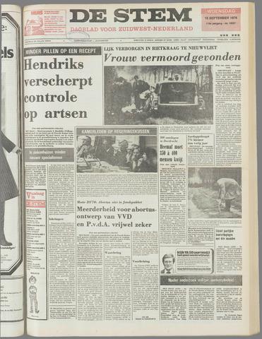 de Stem 1976-09-15