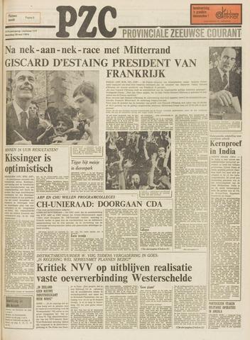 Provinciale Zeeuwse Courant 1974-05-20