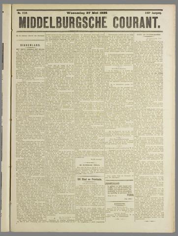 Middelburgsche Courant 1925-05-27