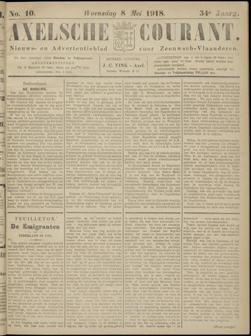 Axelsche Courant 1918-05-08