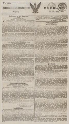 Middelburgsche Courant 1832-10-09