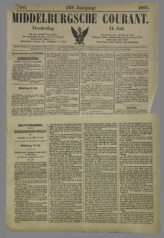 Middelburgsche Courant 1887-07-14