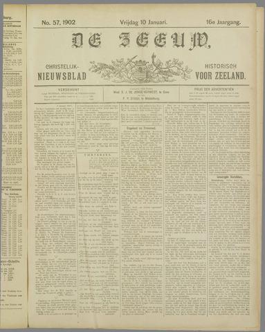De Zeeuw. Christelijk-historisch nieuwsblad voor Zeeland 1902-01-10