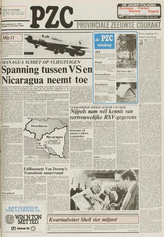 Provinciale Zeeuwse Courant 1984-11-09