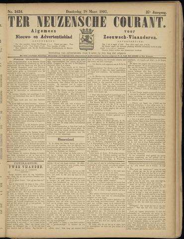 Ter Neuzensche Courant. Algemeen Nieuws- en Advertentieblad voor Zeeuwsch-Vlaanderen / Neuzensche Courant ... (idem) / (Algemeen) nieuws en advertentieblad voor Zeeuwsch-Vlaanderen 1897-03-18