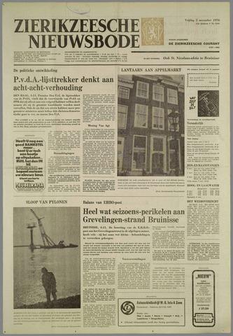 Zierikzeesche Nieuwsbode 1976-11-05