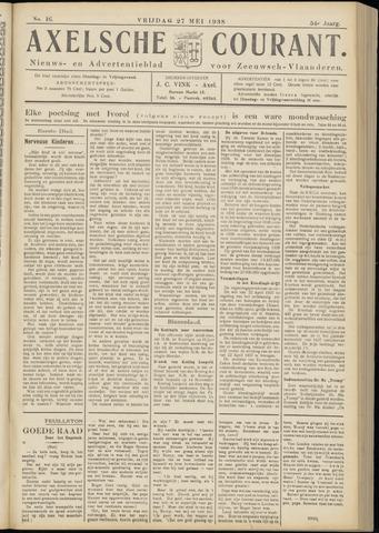 Axelsche Courant 1938-05-27