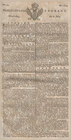 Middelburgsche Courant 1779-05-06