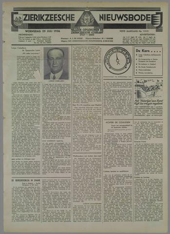 Zierikzeesche Nieuwsbode 1936-07-29