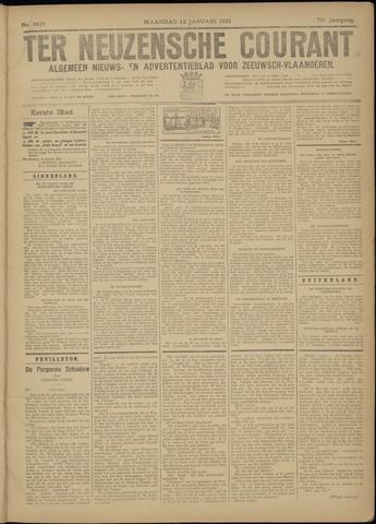 Ter Neuzensche Courant. Algemeen Nieuws- en Advertentieblad voor Zeeuwsch-Vlaanderen / Neuzensche Courant ... (idem) / (Algemeen) nieuws en advertentieblad voor Zeeuwsch-Vlaanderen 1931-01-12