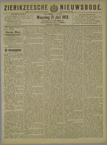 Zierikzeesche Nieuwsbode 1913-07-21