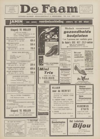 de Faam en de Faam/de Vlissinger 1967-09-28