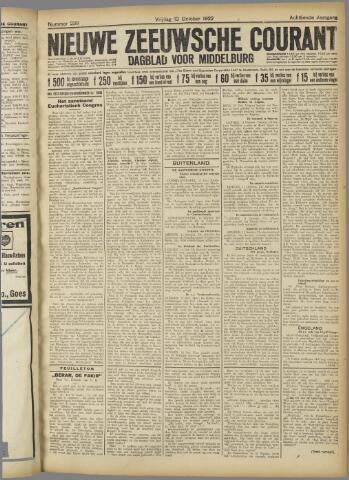 Nieuwe Zeeuwsche Courant 1922-10-13