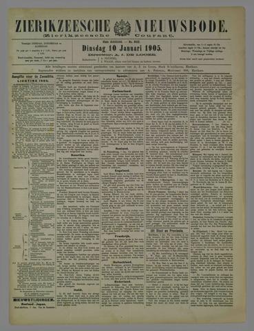 Zierikzeesche Nieuwsbode 1905-01-10