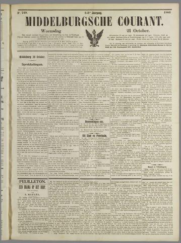 Middelburgsche Courant 1908-10-21
