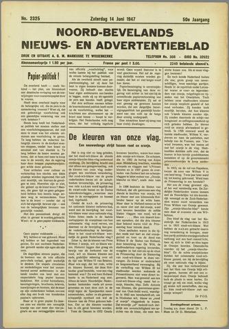 Noord-Bevelands Nieuws- en advertentieblad 1947-06-14