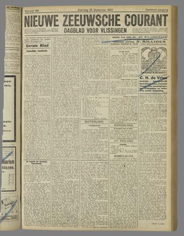 Nieuwe Zeeuwsche Courant 1920-09-25