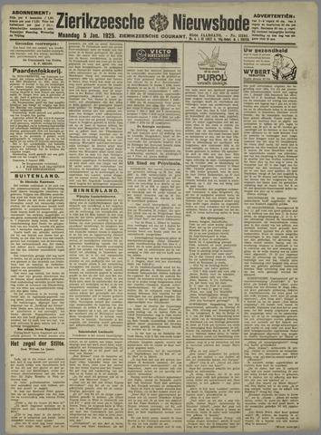 Zierikzeesche Nieuwsbode 1925-01-05