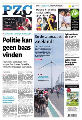 Provinciale Zeeuwse Courant 2015-12-09