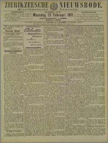 Zierikzeesche Nieuwsbode 1911-02-13
