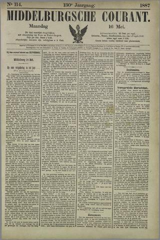 Middelburgsche Courant 1887-05-16