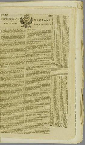 Middelburgsche Courant 1805-11-14