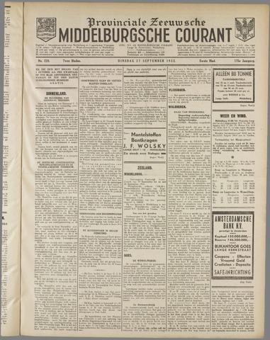 Middelburgsche Courant 1932-09-27