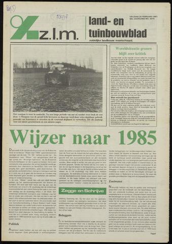 Zeeuwsch landbouwblad ... ZLM land- en tuinbouwblad 1981-02-20