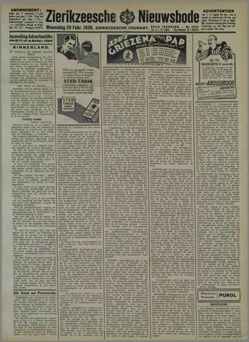 Zierikzeesche Nieuwsbode 1930-02-28