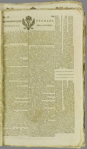 Middelburgsche Courant 1807-10-13