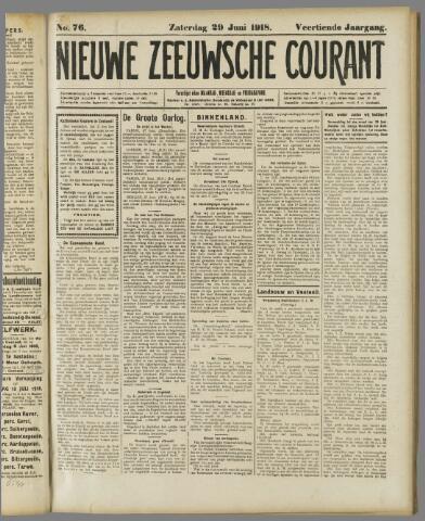 Nieuwe Zeeuwsche Courant 1918-06-29