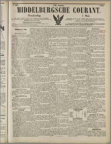 Middelburgsche Courant 1903-05-07