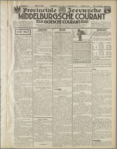 Middelburgsche Courant 1937-02-25