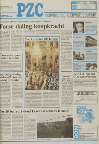 Provinciale Zeeuwse Courant 1992-01-08
