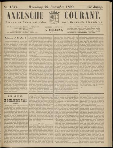 Axelsche Courant 1899-11-22