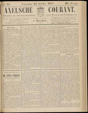 Axelsche Courant 1904-10-12