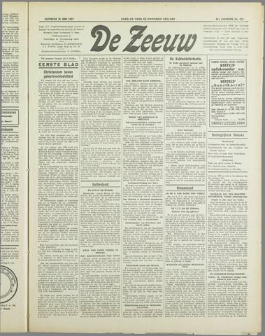 De Zeeuw. Christelijk-historisch nieuwsblad voor Zeeland 1937-06-12