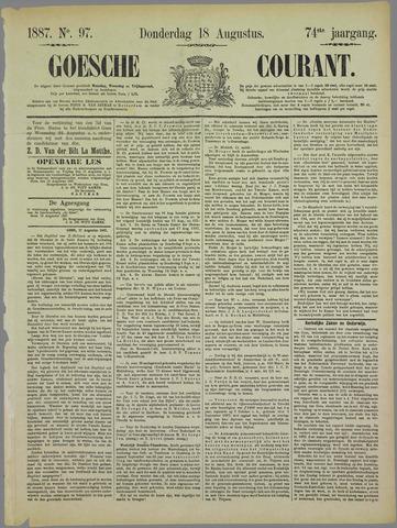 Goessche Courant 1887-08-18