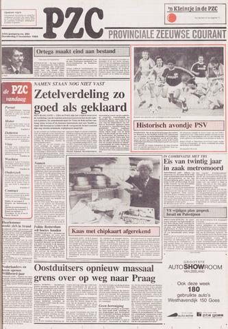 Provinciale Zeeuwse Courant 1989-11-02